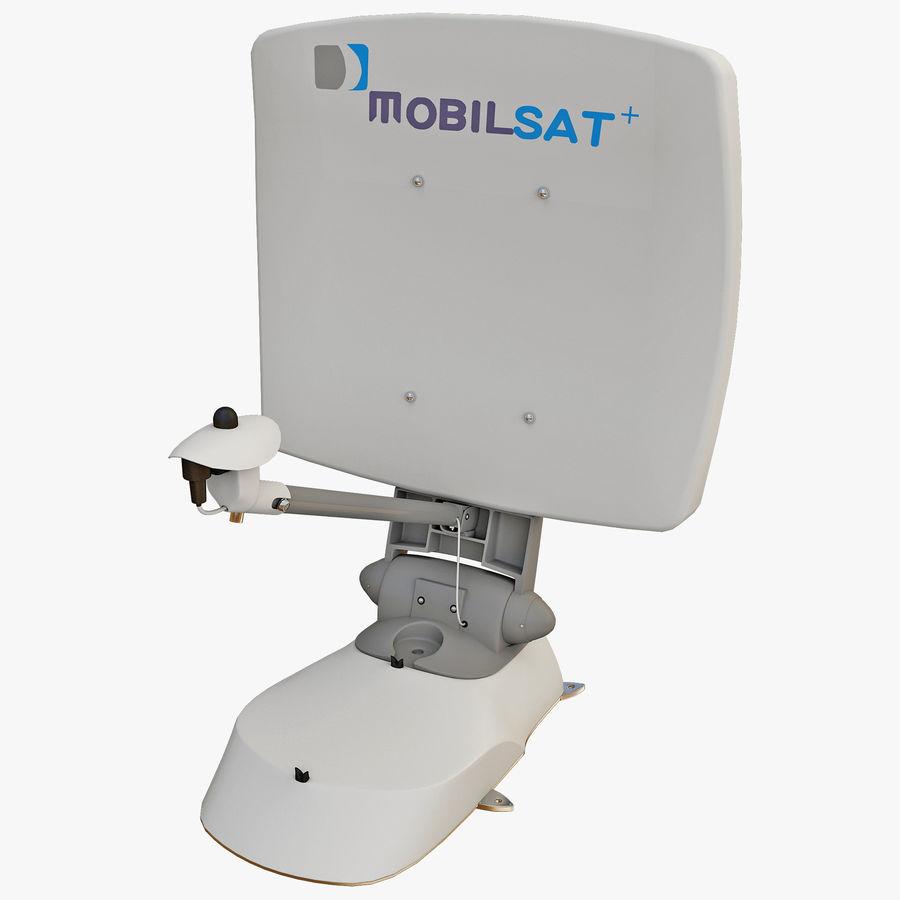 Antena satelital MobilSat royalty-free modelo 3d - Preview no. 1