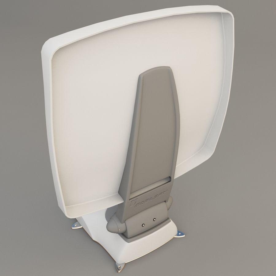 Satellitenantenne MobilSat royalty-free 3d model - Preview no. 9
