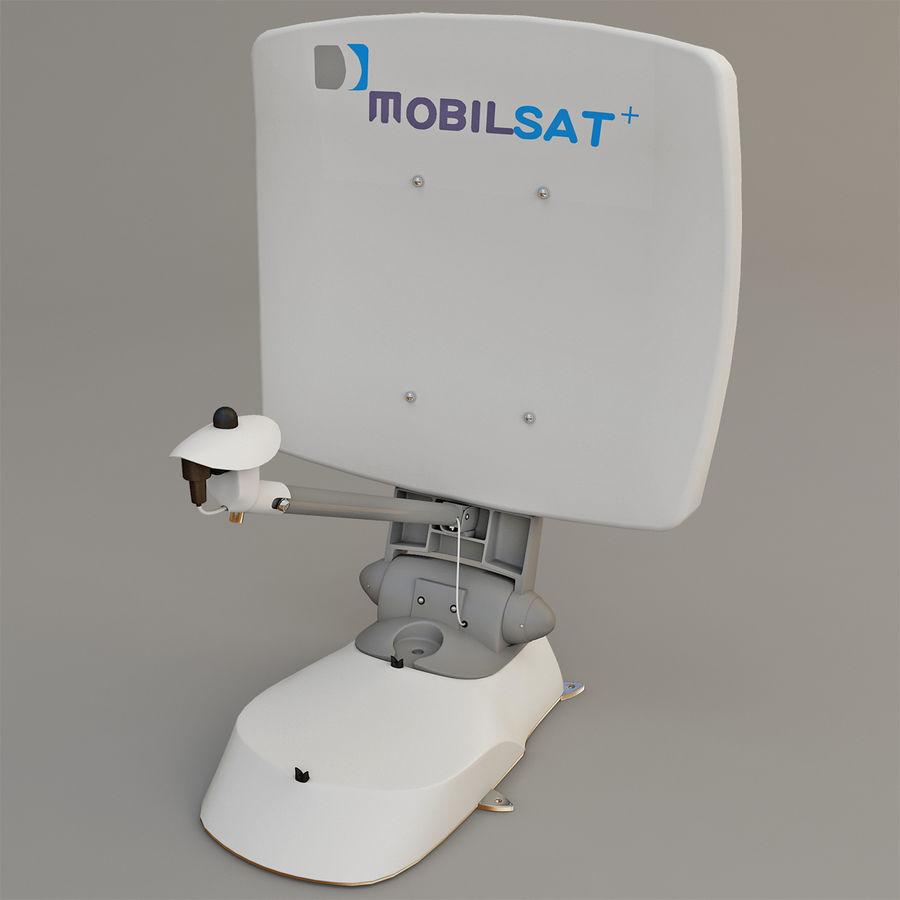 Antena satelitarna MobilSat royalty-free 3d model - Preview no. 2