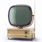 Retro TV Philco Predicta 3d model
