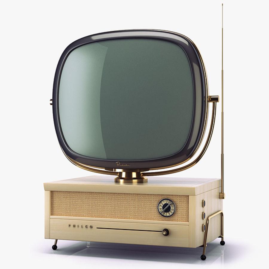 Retro TV Philco Predicta royalty-free 3d model - Preview no. 1