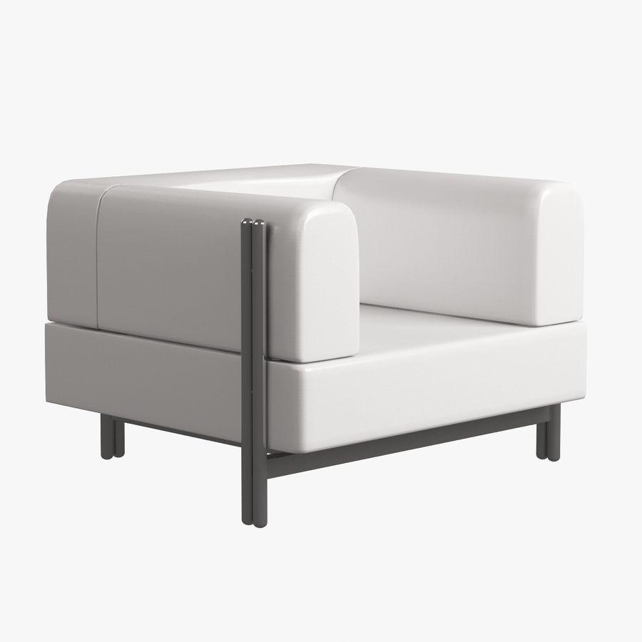 家具付き003 royalty-free 3d model - Preview no. 4