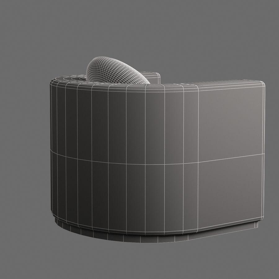 椅子家具006 royalty-free 3d model - Preview no. 8