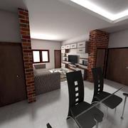 Salle de dessin 3d model