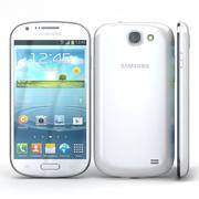 Samsung Galaxy Express I8730 Branco 3d model