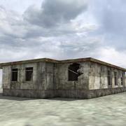 Zniszcz Zniszczony Dom 3d model