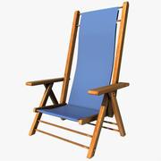 Yaz sandalye 3d model