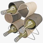 Wine Rack 9 3d model