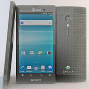 Sony Xperia Ion 3d model