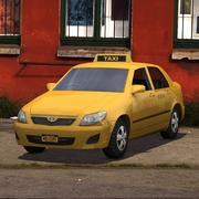 Toyota Taxi 3d model