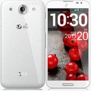 LG Optimus G Pro bianco 3d model