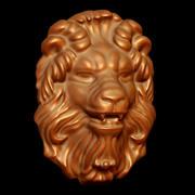 Tête de lion 3d model