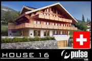 Swiss House 3d model