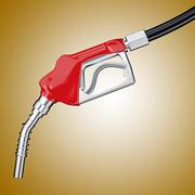 Benzinepomp Handvat 3d model