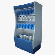 Supermarket Refrigerator 02 3d model