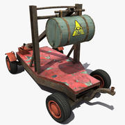 弹射蒸汽朋克 3d model