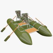 Катамаран двух мест 3d model