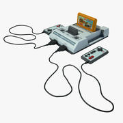 Dendy Game Console 3d model