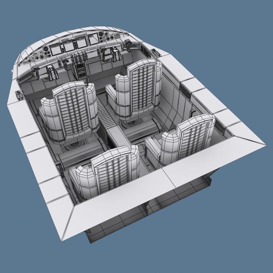 Cockpit C royalty-free 3d model - Preview no. 8