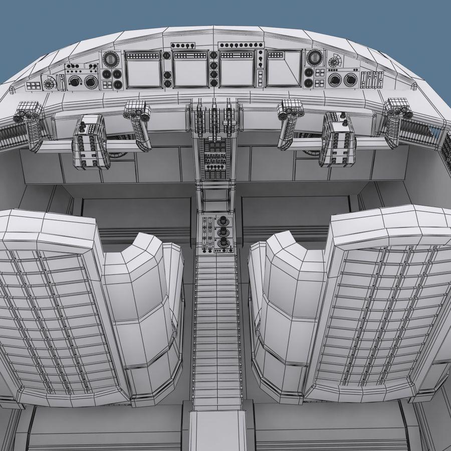 Cockpit C royalty-free 3d model - Preview no. 10