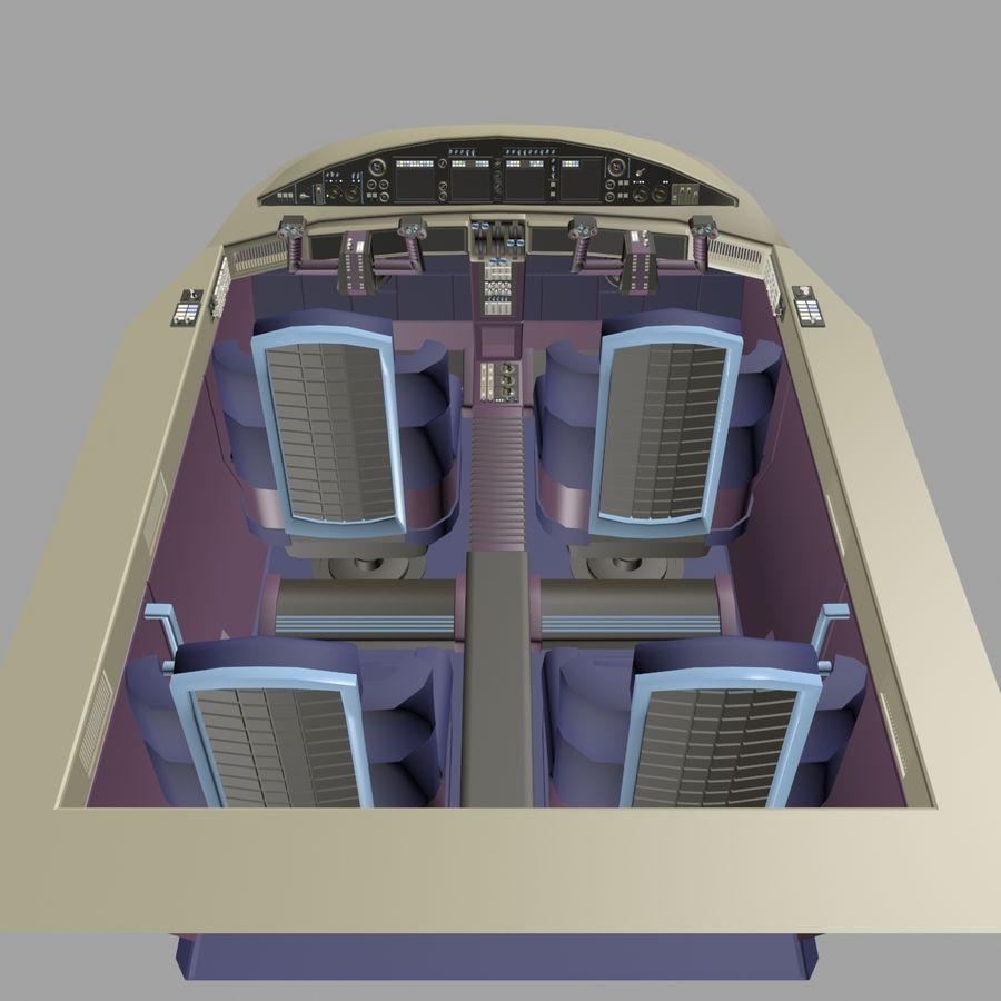 Cockpit C royalty-free 3d model - Preview no. 6