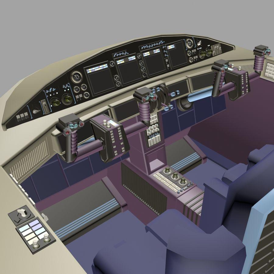 Cockpit C royalty-free 3d model - Preview no. 4