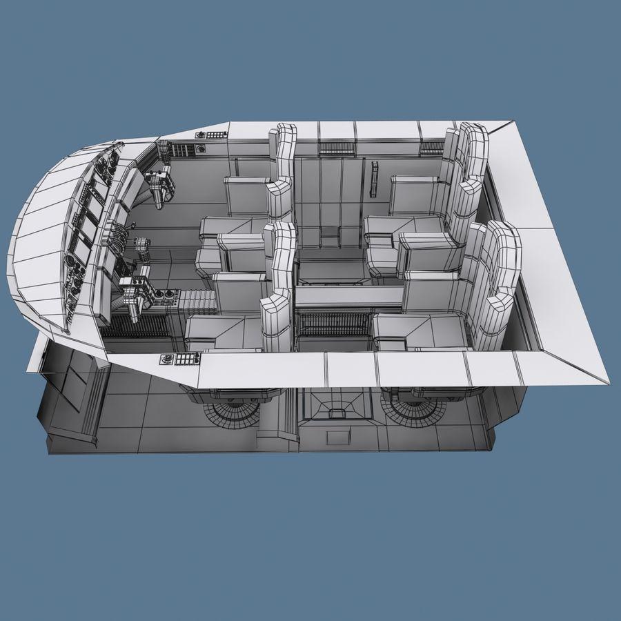 Cockpit C royalty-free 3d model - Preview no. 9
