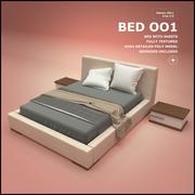BED OO1 3d model