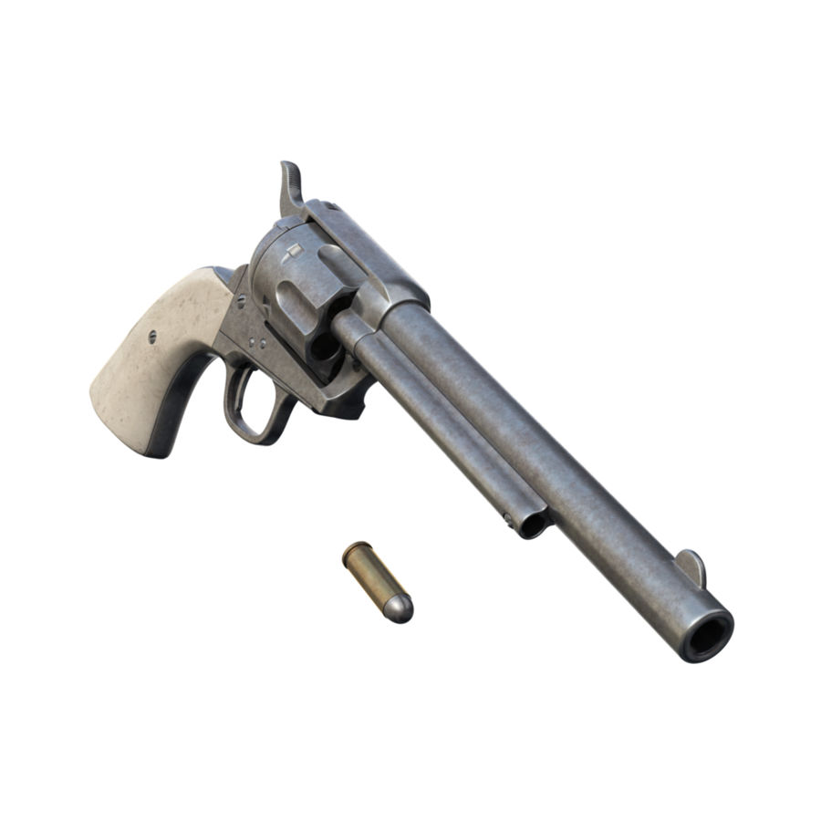 Colt Tabanca royalty-free 3d model - Preview no. 4