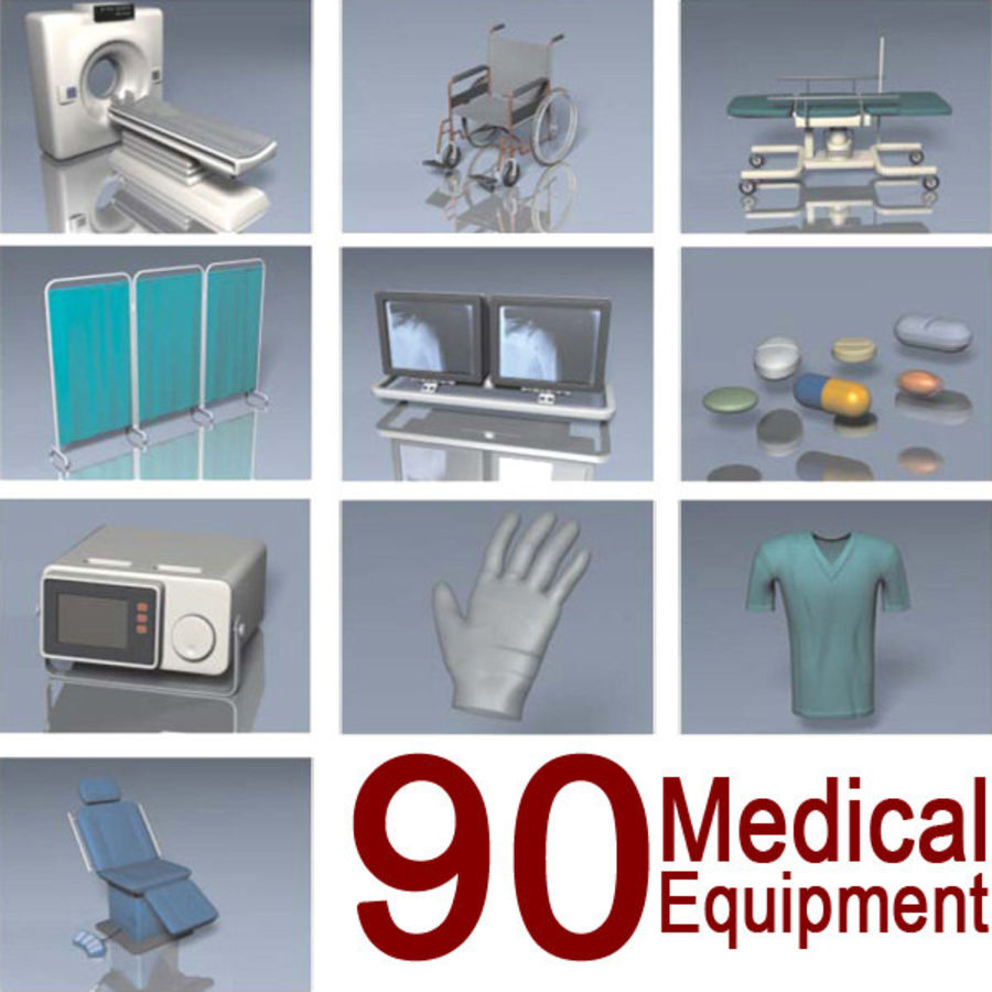 Medical Equipment royalty-free 3d model - Preview no. 1