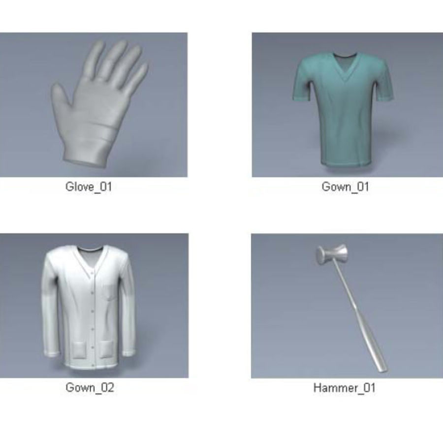 Medical Equipment royalty-free 3d model - Preview no. 17