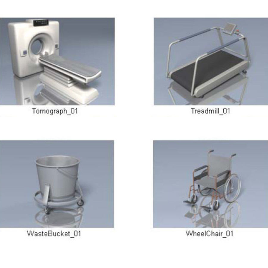 Medical Equipment royalty-free 3d model - Preview no. 4