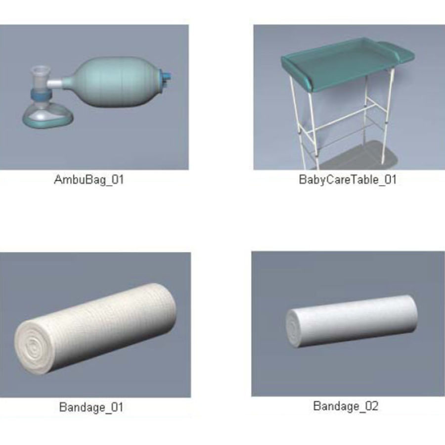 Medical Equipment royalty-free 3d model - Preview no. 20
