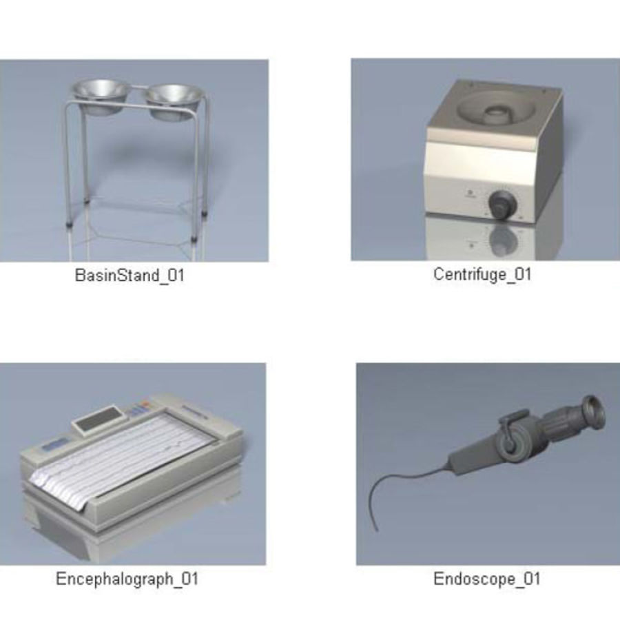 Medical Equipment royalty-free 3d model - Preview no. 22