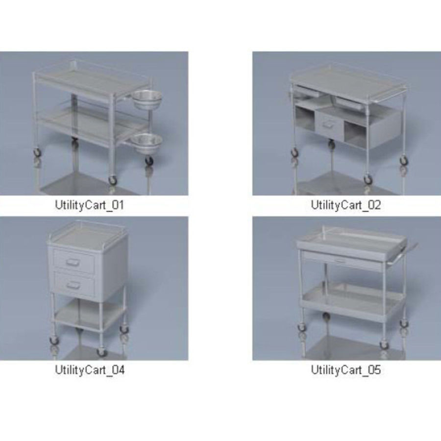Medical Equipment royalty-free 3d model - Preview no. 3