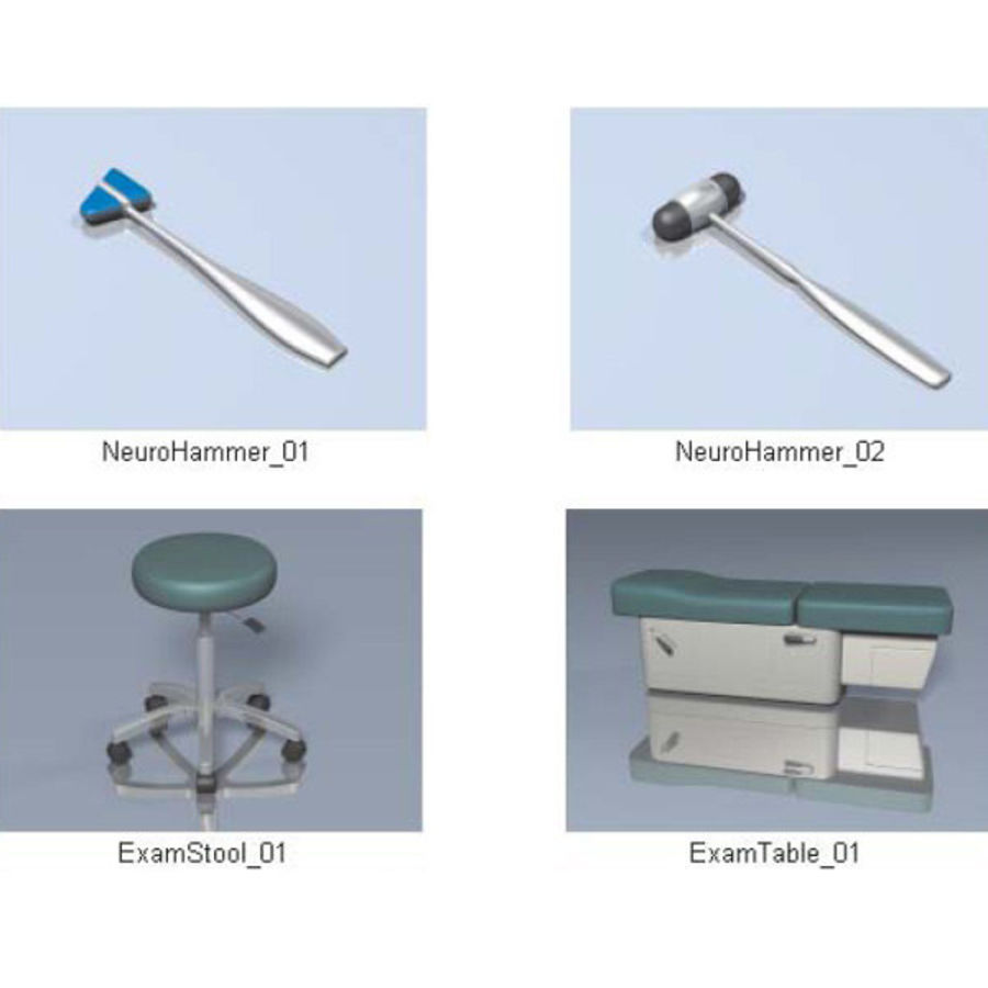 Medical Equipment royalty-free 3d model - Preview no. 15