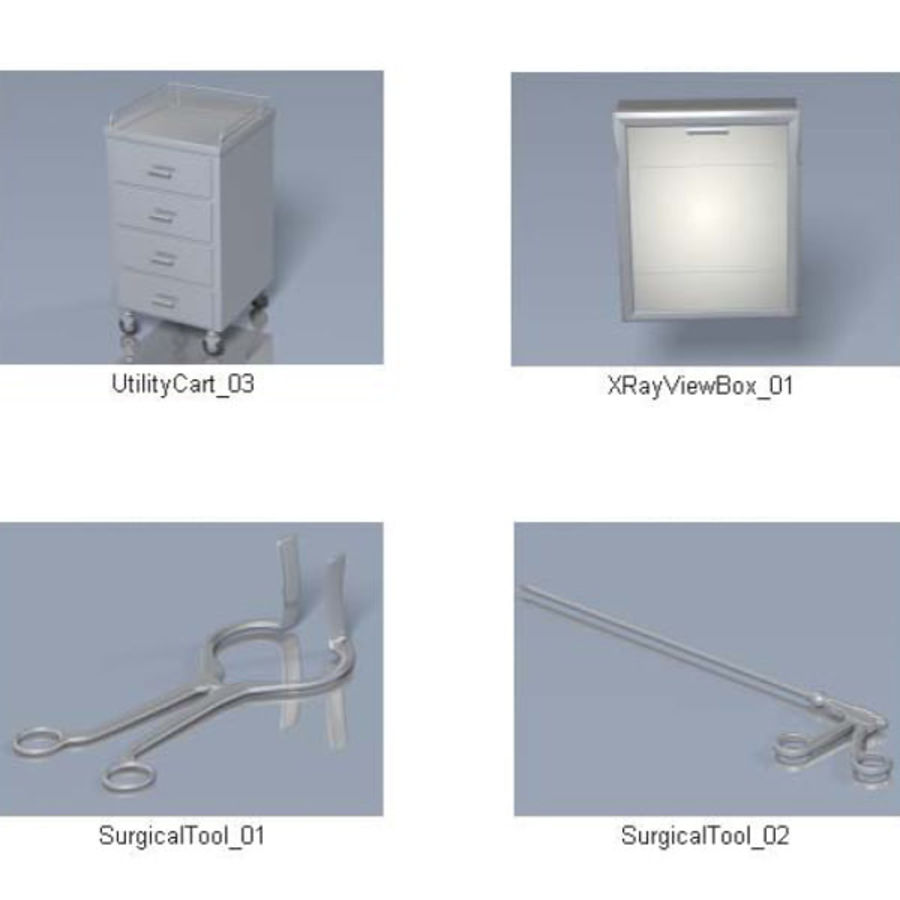 Medical Equipment royalty-free 3d model - Preview no. 5