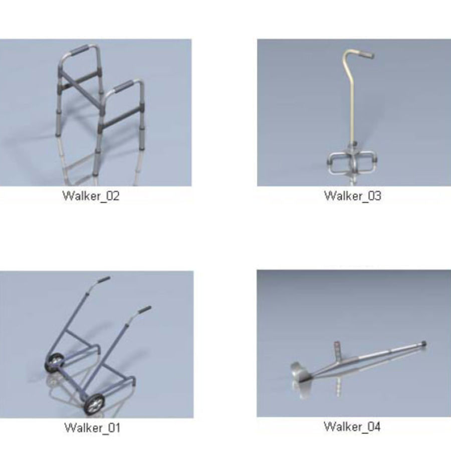 Medical Equipment royalty-free 3d model - Preview no. 6