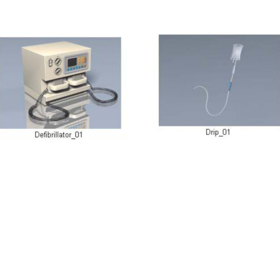 Medical Equipment royalty-free 3d model - Preview no. 24