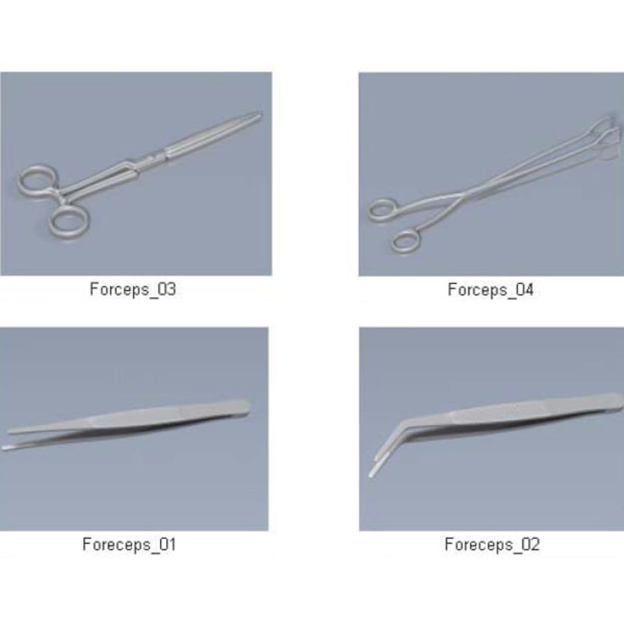 Medical Equipment royalty-free 3d model - Preview no. 16