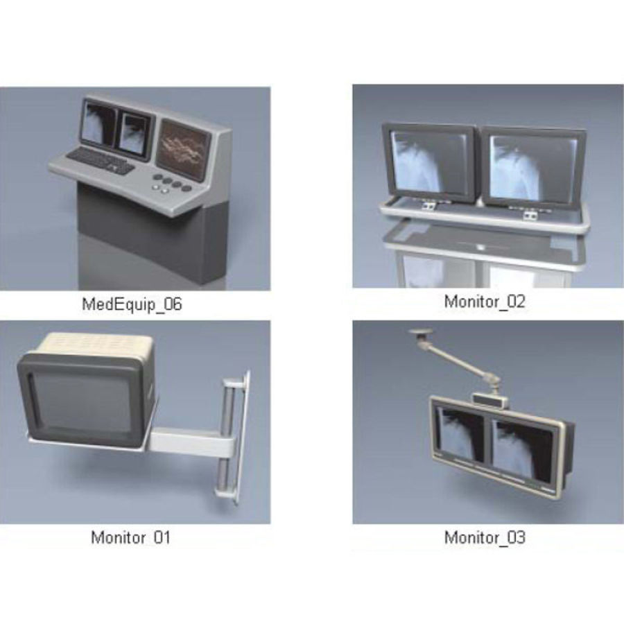 Medical Equipment royalty-free 3d model - Preview no. 13