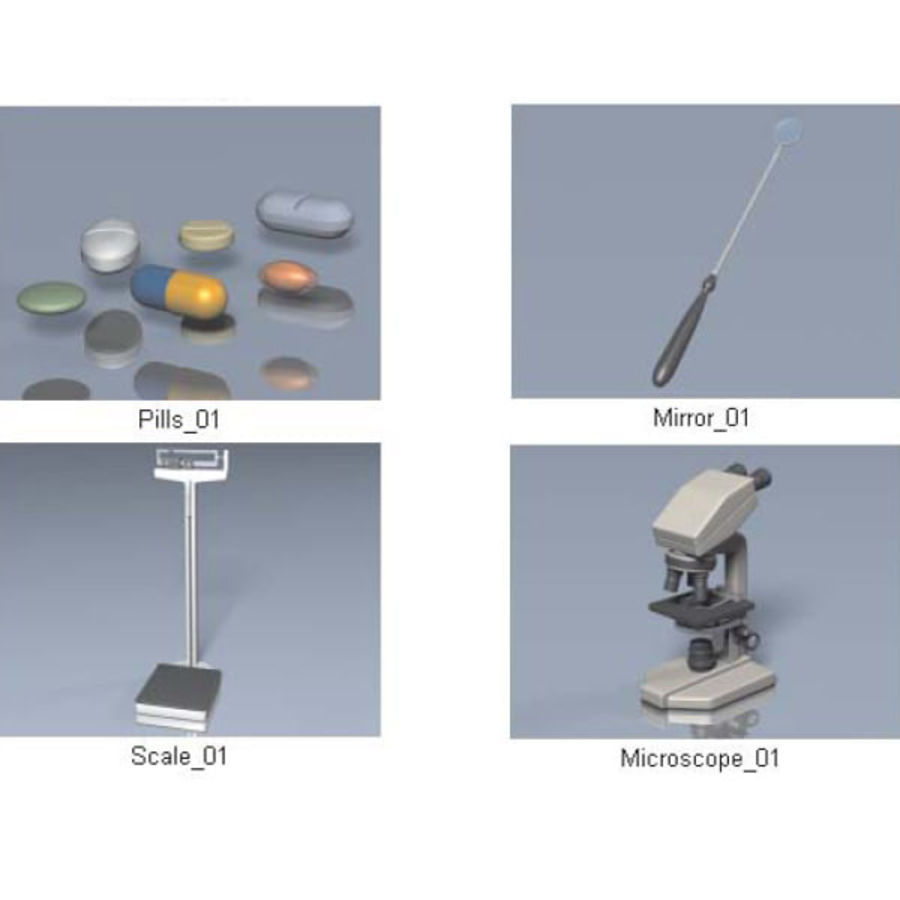 Medical Equipment royalty-free 3d model - Preview no. 12