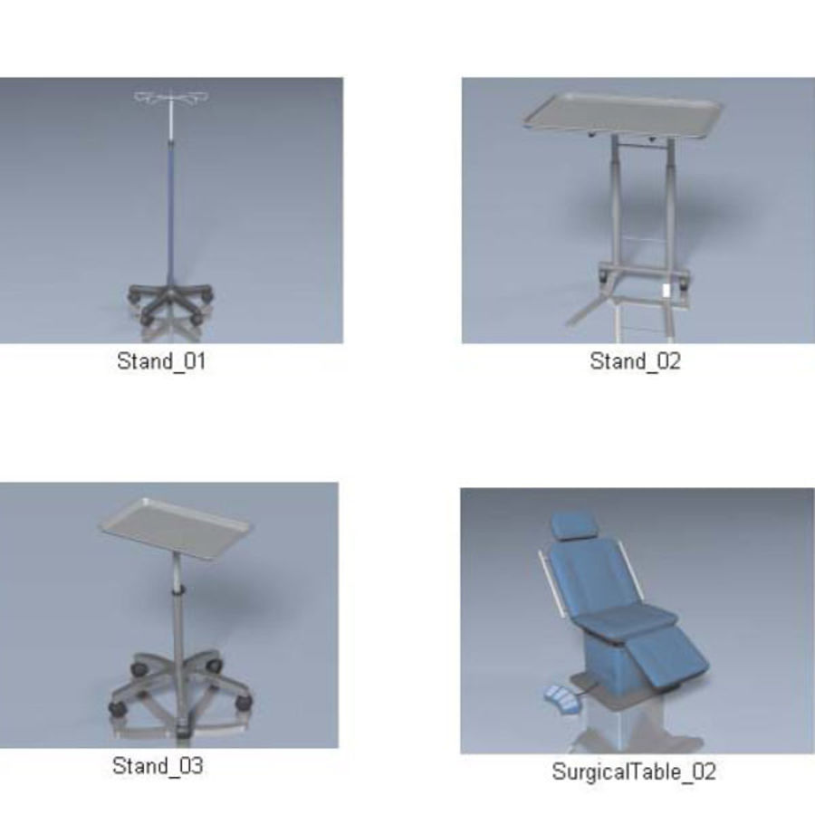 Medical Equipment royalty-free 3d model - Preview no. 9