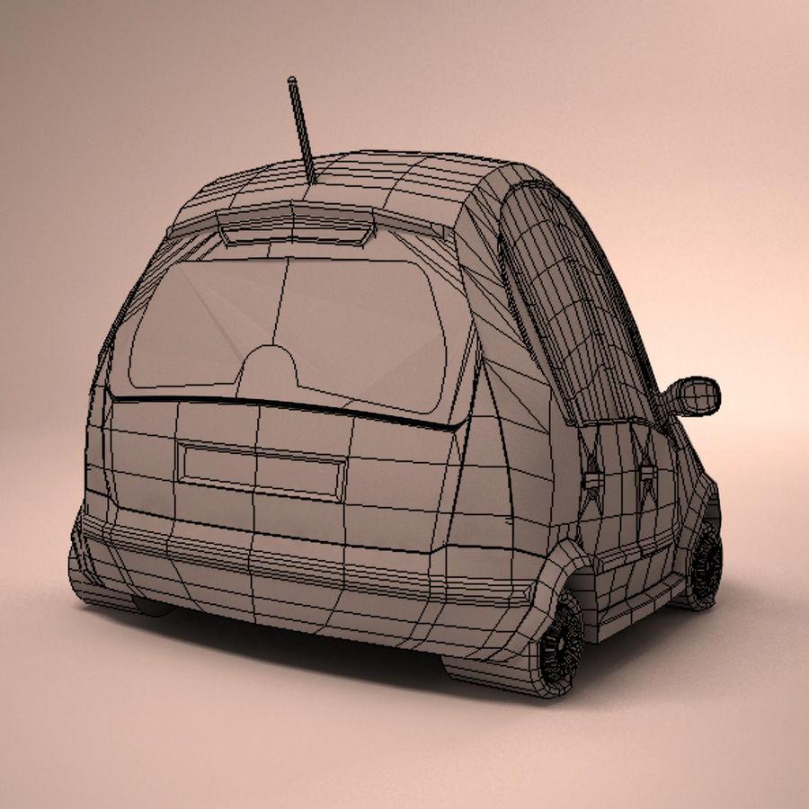Carro Citroen C3 Toon royalty-free 3d model - Preview no. 15