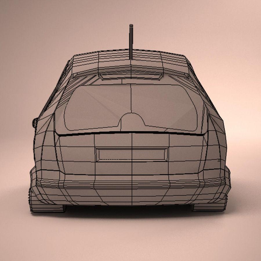 Carro Citroen C3 Toon royalty-free 3d model - Preview no. 16