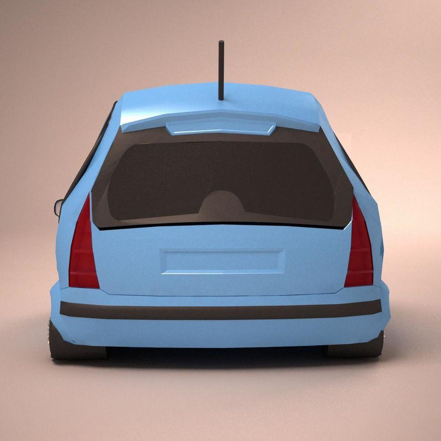 Carro Citroen C3 Toon royalty-free 3d model - Preview no. 5