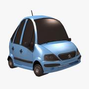 Citroen C3 Toon Car 3d model