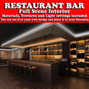 Restaurant Bar 3d model