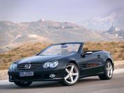 Mercedes Benz sl350 r230 cabrio 3d model