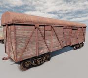 Vagões ferroviários 3d model